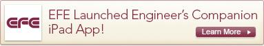 EFE Launches Engineer's Companion iPad App!