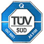 TUV SUD ISO 9001, AS9100D